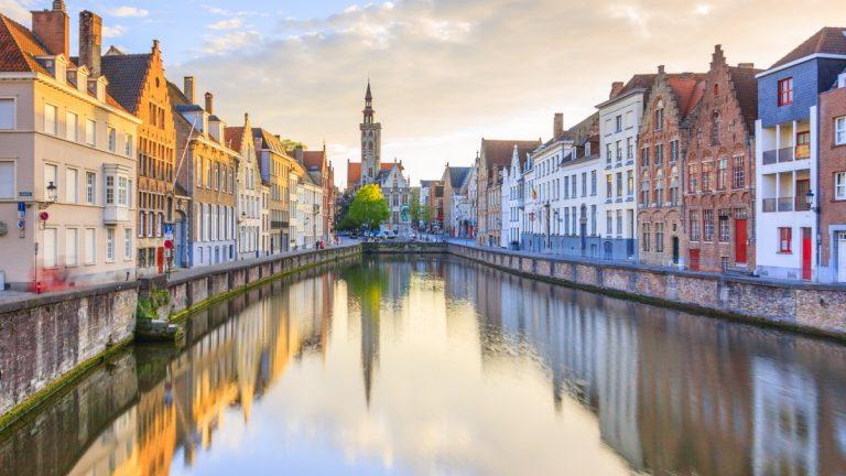 Canals-of-Bruges-Belgium